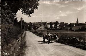 CPA-Usson-en-Forez-Route-de-Sauvessange-663899