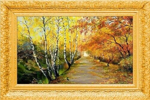 Natur Bilder Rahmen MDF Gemälde 60x40