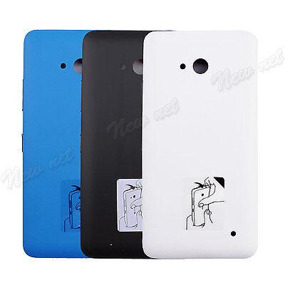 "Matte Battery Door Back Cover Case For Microsoft Lumia 640 5"" Black White Blue"