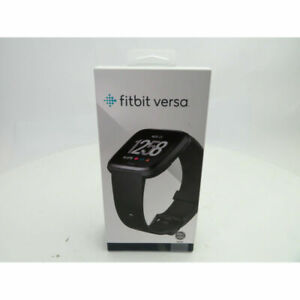 Fitbit-FB504GMBK-Versa-Smartwatch-with-Heart-Rate-Monitor-Large-Black