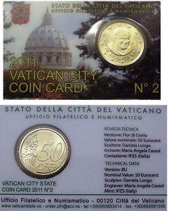 Coincard-2011-Vaticaan-Vatikan-Vatican-Vaticano-City-Coincard-No-2-50-cents