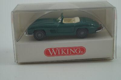 Wiking Modello Di Auto 1:87 H0 Mercedes-benz 300 Sl Roadster N. 8340523-mostra Il Titolo Originale Facile Da Usare