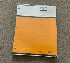1977 J I Case Parts Manual Sealed New 1816 Uni Loader Catalog Nod 1228