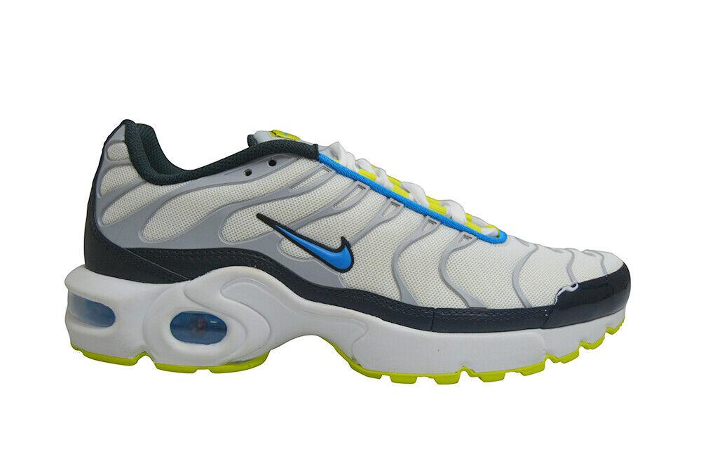 Juniors Nike Tuned 1 Air Max Plus (GS) TN - 655020115 - White Photo bluee