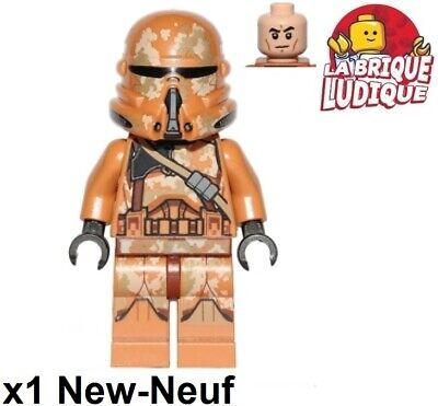 LEGO Star Wars Geonosis Airborne Clone Trooper Minifigure 75089 sw0605