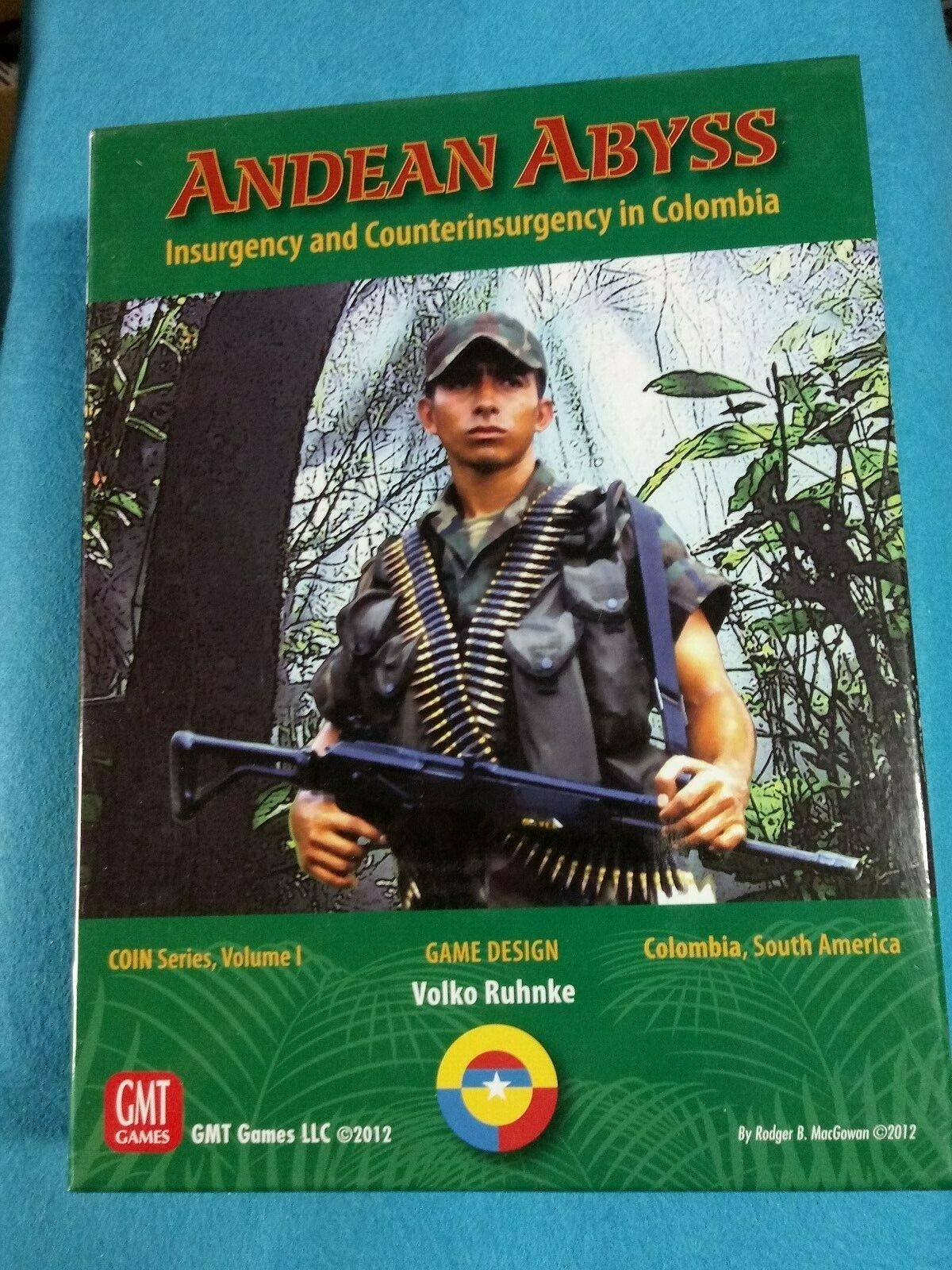 Wargame Boardgame - Andean Abyss, COIN Series Volume I Unpunched - WG509