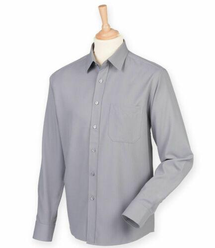 HENBURY-Camicia a maniche lunghe traspirante-Quick Dry-ANTI UV-dimensioni ridotte 4XL