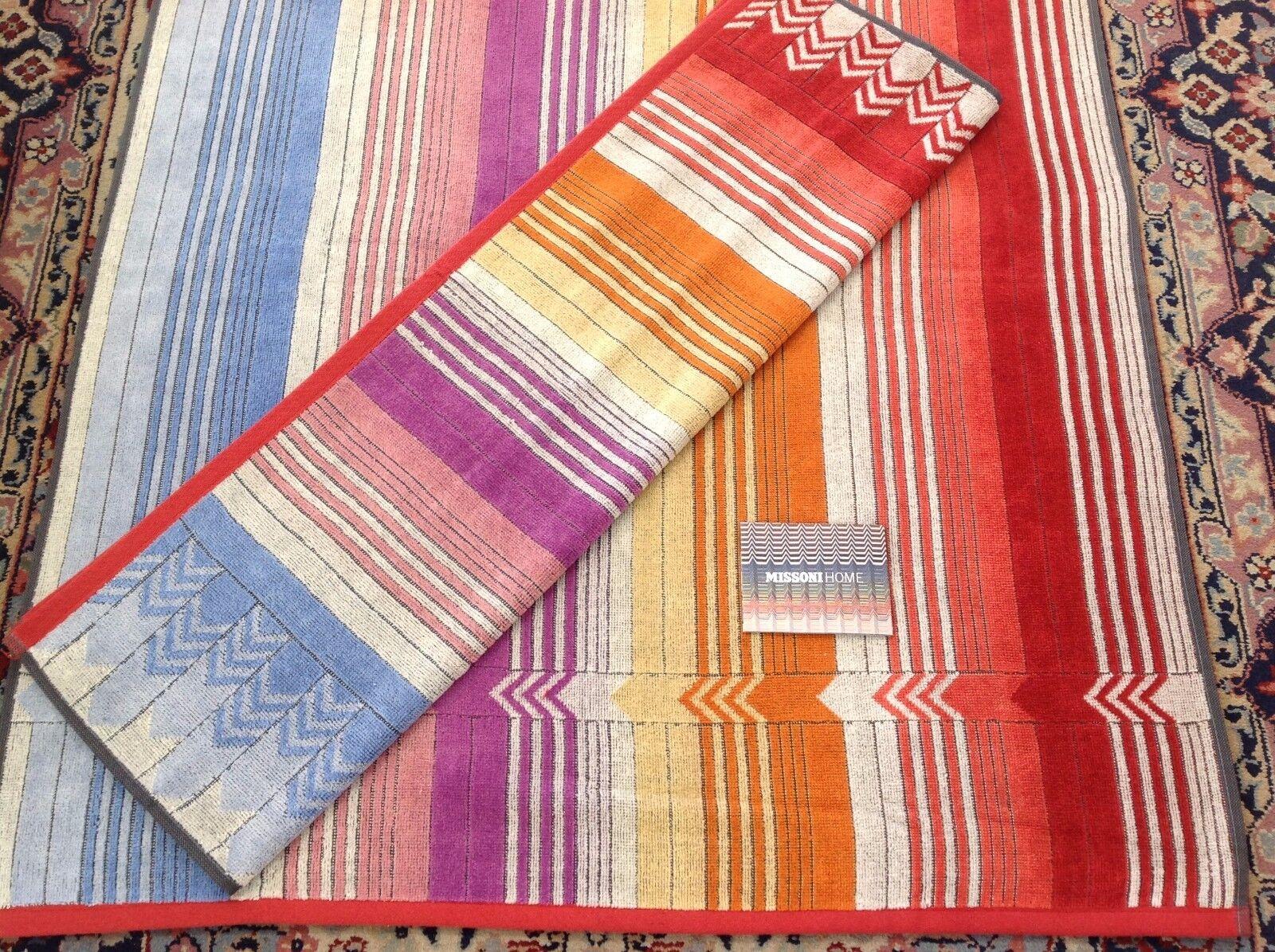 Asciugamani asciugamani asciugamani bagno missoni sunday two
