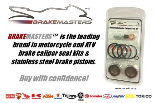 Honda VFR800 Fi front brake caliper piston set stainless steel 2000 2001 kit