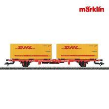 Märklin 47705 Containerwagen DHL Container +++ NEU in OVP