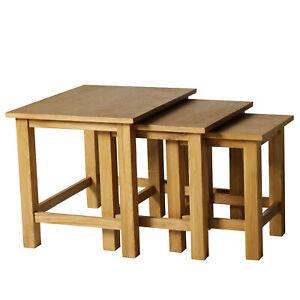 Tavolini Da Salotto Impilabili.Dettagli Su Homcom Set 3 Tavolini Da Caffe Ad Incastro Impilabili Legno Da Salotto