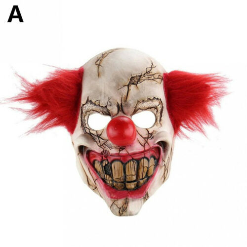 Bloody Zombie Walking Dead Mask Halloween Costume Party Decorations Latex Toys