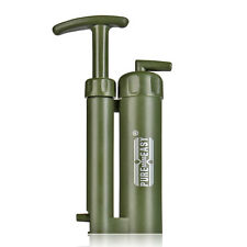Water Filter Purifier Emergency Cartridge Army Soldier Hiking Camping Survival