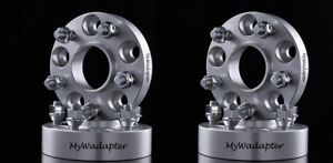 Wheel-Spacer-Adapters-Silver-15-mm-5x120-To-5x114-3-Hub-Centric-BMW-4-PCS