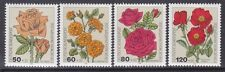 Germany B600-03 MNH 1982 Various Types of Roses Full Set Very Fine