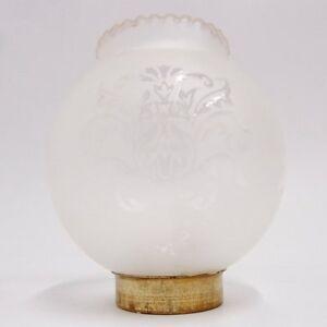 Lampenschirm-130-110-45-mm-Glas-Windlicht-Zylinder-Ersatzglas-alt-Petroleumlampe