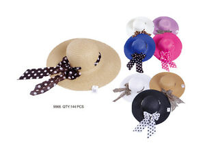 626a1acfb8f New Summer Cool Women s Crushable Packable Wide Brim Straw Hat SPF50 ...