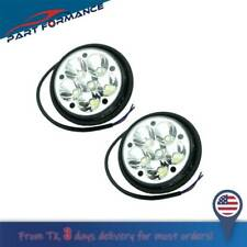 For Freightliner Columbia 05 10 Pair Led Fog Light New Style Very Bright