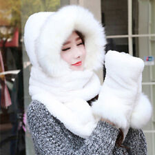4aeb84a94cc item 5 Winter Soft Ski Hat With Long Scarf Mittens Hood Warm Faux Fur  Attached Gloves -Winter Soft Ski Hat With Long Scarf Mittens Hood Warm Faux  Fur ...