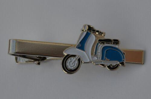 Royal Blue /& White Mod Scooter Esmalte tie-pin