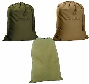 57007a70295c Image is loading Military-Type-Barracks-Bags-Durable-Canvas-Laundry-Clothes-