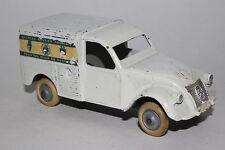 JRD Diecast 1950's Citroen 2CV Delivery Van Touring Club of France Nice Original