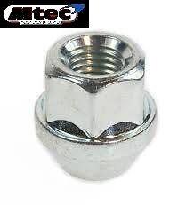 1x BMW Wheel Nut Open Type  M12 x 1.5mm 19mm Hex