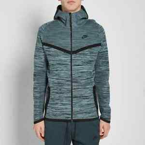 d9fe48ce4dd8 Nike Tech Knit Windrunner -CHOOSE SIZE- 728685-011 Black Cannon Grey ...