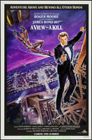 A View To A Kill Movie Poster Rolled 27x41 James Bond Intl.version Roger Moore