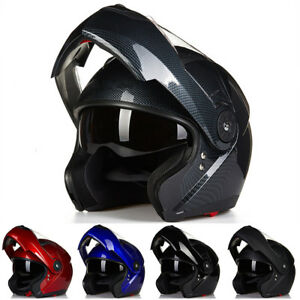 ILM Motorcycle Helmet Full Face Modular Flip Up Helmet Mountain Bike Helmets...