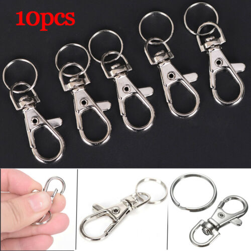 Pendant Key Hooks  Snaps Key Chains Ring Lobster Claw Clasp Jewelry Accessories