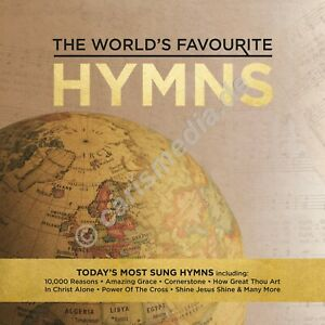 CD-Box-THE-WORLD-039-S-FAVOURITE-HYMNS-50-Songs-on-3-CDs-50-Lieder-CM
