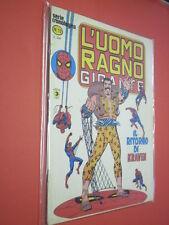 UOMO RAGNO GIGANTE- N° 13 a  -DEL 1977- EDIZIONI CORNO- SERIE CRONOLOGICA