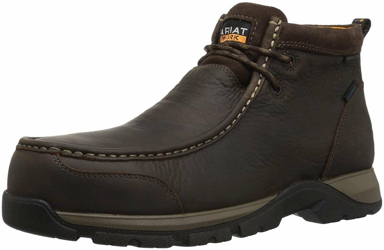 Ariat Work Men's Edge LTE Moc Composite Toe Western Boot
