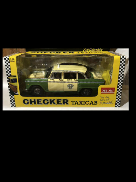 1:18 OVP K015 Sun Star 2502 Checker A11 Taxicab Chicago Cab Taxi 1981