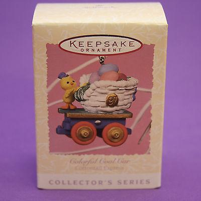 Hallmark Keepsake Ornament Easter 1997 COAL CAR Cottontail Express Train #2