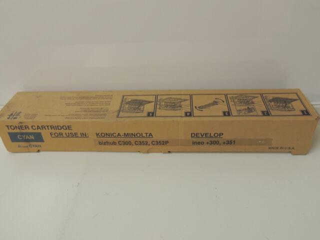 Alternativ Konica Minolta Toner TN-312C cyan 8938-708,Kompatibel Konica Minolta