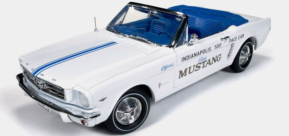 1964 1 2 Mustang converdeible Indianapolis 500 Pace Car 1 18 Auto World 209
