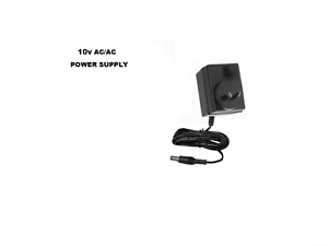 10V-1000MA-AC-AC-POWER-SUPPLY-10-VOLT-1AMP-1A-1-amp-WALL-ADAPTER-240V-AUS-2-1mm