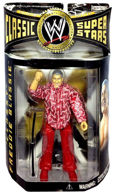 Classic Freddie Blassie WWE WWF Classic Superstars NIB Collector Series Jakks