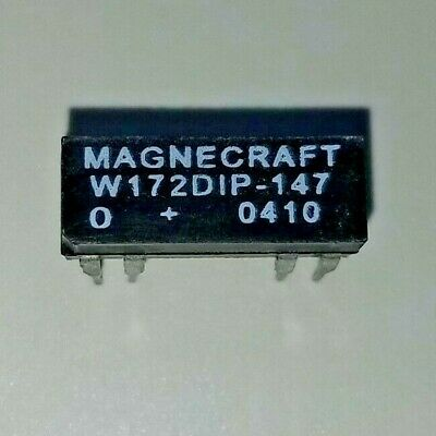 120VAC SPDT MAGNECRAFT 9AS5A52-120 POWER RELAY FLANGE 30A