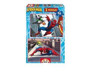 Educa-13670-Puzzle-infantil-2x48-piezas-Spiderman-Classic