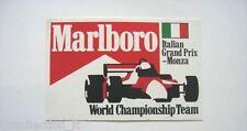 ADESIVO AUTO F1 anni '90 / Old Sticker ITALIAN GRAND PRIX MONZA (cm 13,5 x 8,5)