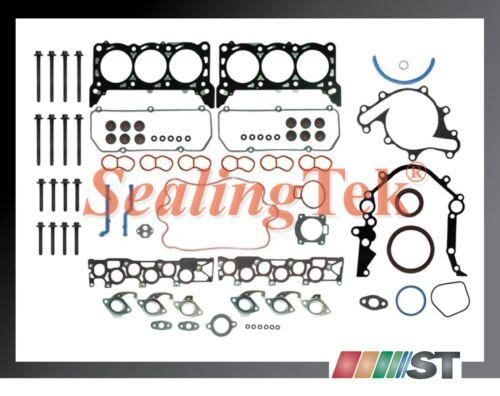 Fit 2001-04 Ford 4.2L OHV 256ci V6 Essex Engine Full Gasket Set Head Bolts Kit