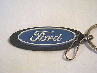 Ford Automobile Company Classic Blue Logo Lanyard