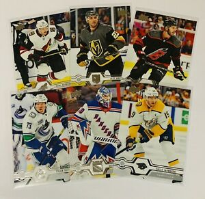 2019-20-UPPER-DECK-UPDATE-HOCKEY-BASE-CARDS-501-516-amp-SUPER-STARS-529-542-U-PICK