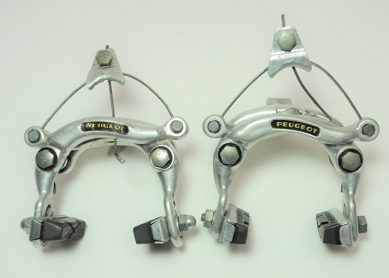 VINTAGE WEINMANN PEUGEOT 610 BICYCLE FRONT & REAR CENTERPULL BRAKES SET