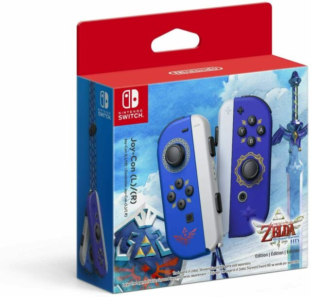 Nintendo Switch Joy-con The Legend of Zelda Skyward Sword - 🚚 Fast Shipping 🚚