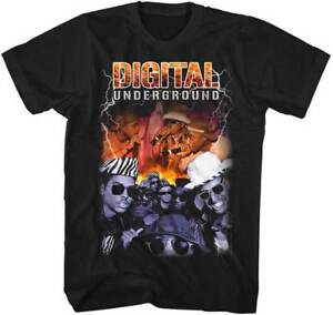 DIGITAL-UNDERGROUND-Bootleg-T-SHIRT-S-M-L-XL-2XL-Brand-New-Official-Shirt