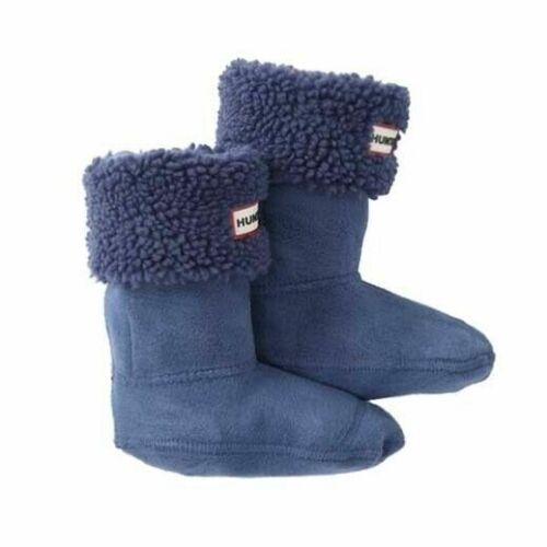 Hunter Original Boot Sock Kids Sheepy cuff fleece Shoe Liner KAS4047AEA PKB